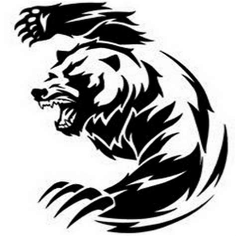 tribal grizzly bear tattoos 24 designs