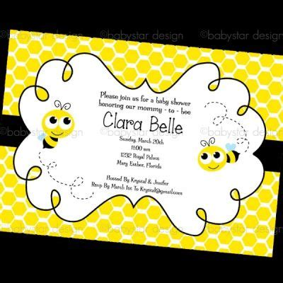 Bumble Bee Invitation Template Free Invitation Single Bumble Bee Invite1 Invitation Single Bumble Bee Invitation Template Free