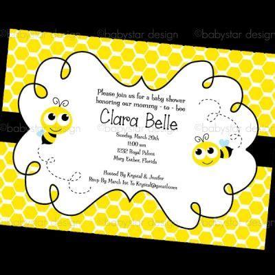 bee card template bumble bee invitation template free invitation single