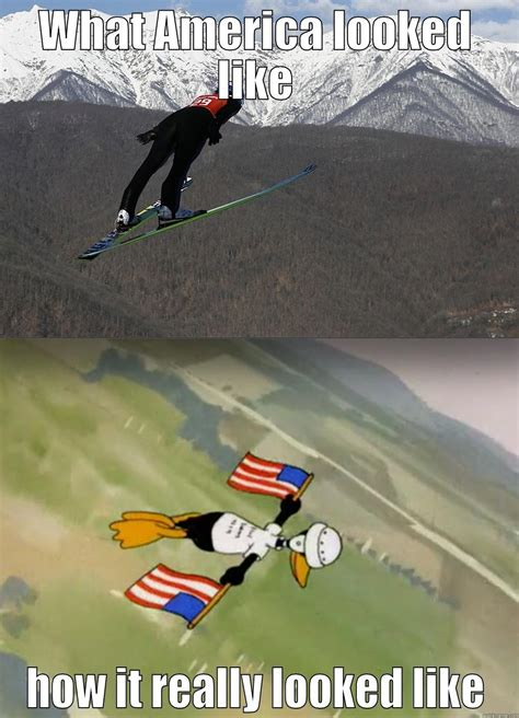 Skiing Meme - ski jumping memes images