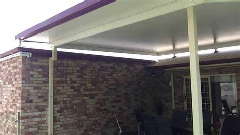 stratco insulated flyover patio  westlake  adaptit