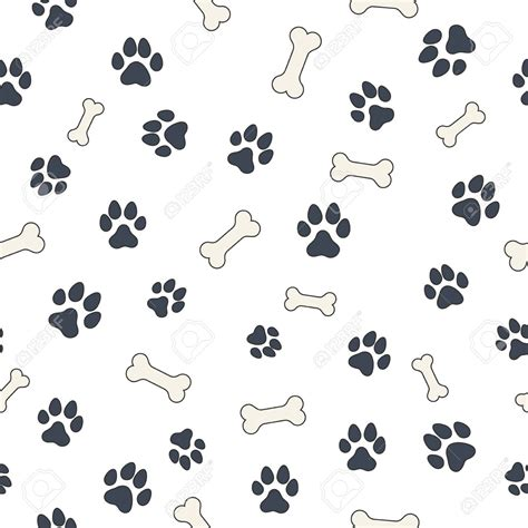 dog pattern wallpaper pics photos paw print paw prints wallpaper pattern