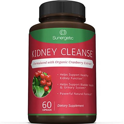 Best Flush Detox by Best Kidney Cleanse Supplement Premium Kidney Support