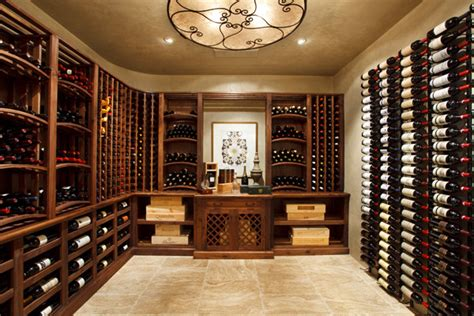 Mediterranean Home Decor Accents wine cellars