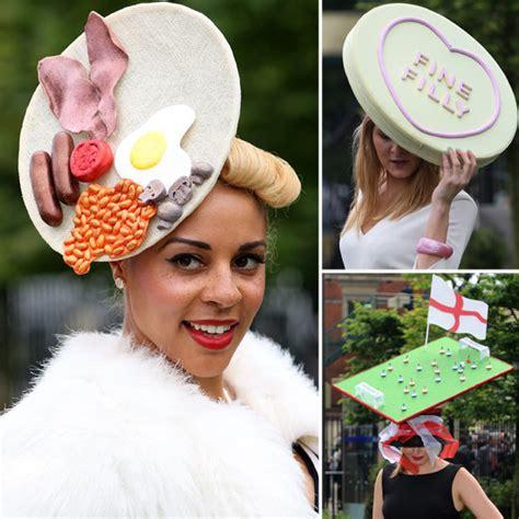 royal ascot hats royal ascot wacky hats lady and the track