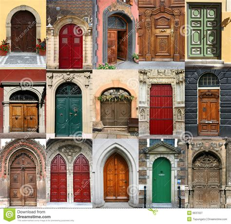 House Entrance Ideas Doors Collection Stock Image Image Of Diversity Cities