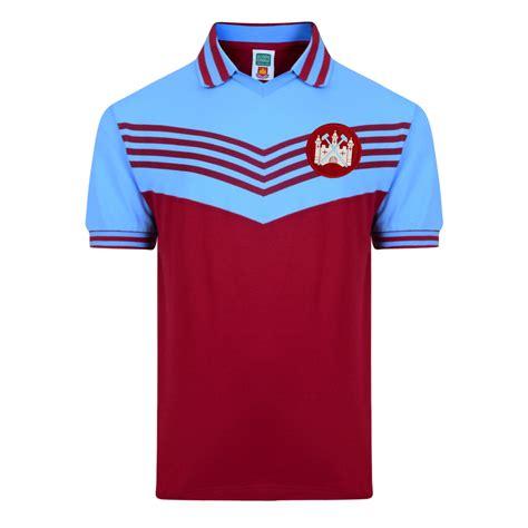 Baju Jersey West Ham United west ham united 1976 pk shirt west ham united retro jersey score draw