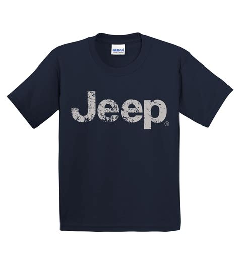 Tshirt Jeep Logo all things jeep youth t shirt with distressed jeep logo