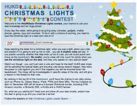 win big prizes with hotukdeals christmas lights contest