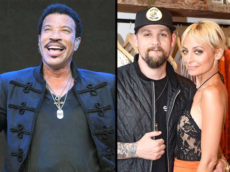 lionel richie photos photos site of nicole richie and lionel richie nicole and joel madden are so happy not