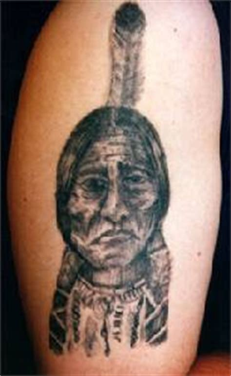 sitting bull tattoo sitting bull indian chief tattooimages biz