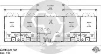 guest house plan guest house plans for best house home