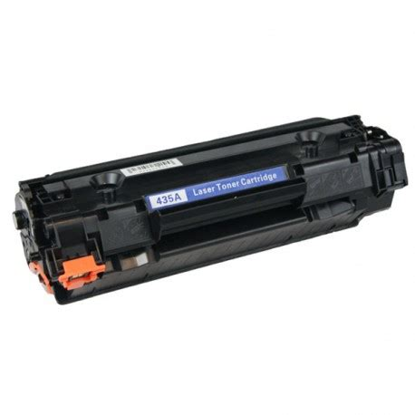 Hp Toner 35a Cb435a Original Black hp cb435a hp 35a black toner cartridge