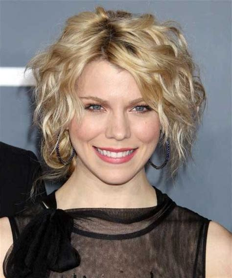 20 collection of short haircuts for thin curly hair