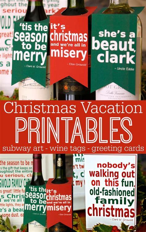 printable christmas vacation cards national loons christmas vacation movie printable