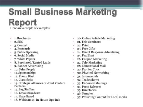 marketing plan report sle marketing report sle pdf 28 images sales and marketing