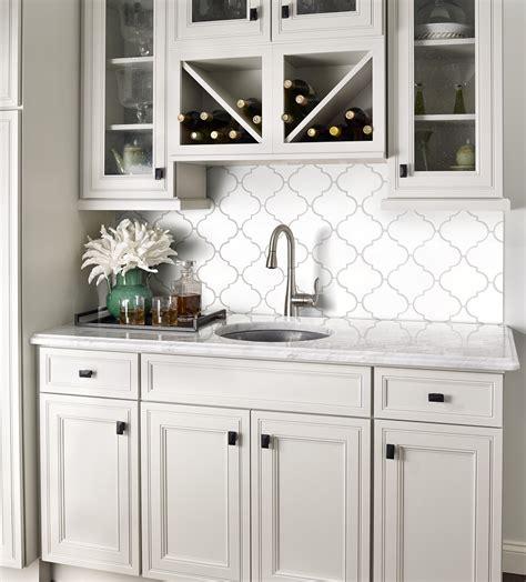 whisper white kitchen 9 79sf whisper white arabesque glazed porcelain mosaic tile