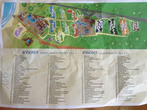insotel tarida resort map vista dal ristorante picture of insotel tarida