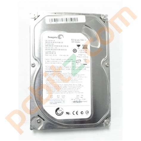 Harddisk Seagate 320gb seagate st3320813as 320gb sata 3 5 quot desktop drive drives