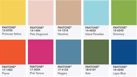 pantone color report 2017 die trendfarben im fr 252 hjahr 2017 modenarren
