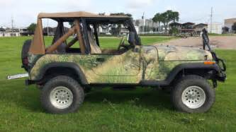 Jeep Wrangler Camo 1991 Camouflage Jeep Wrangler Excellent Condition 4wd