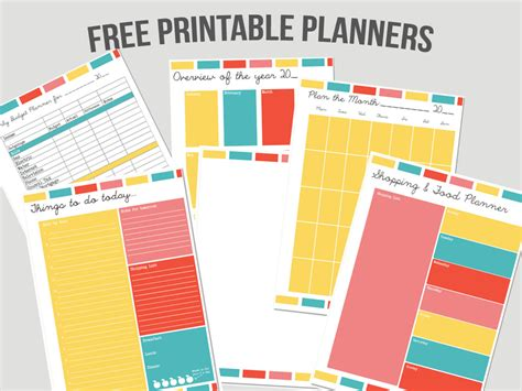 printable household planner pages planners kayleigh s crafty creations