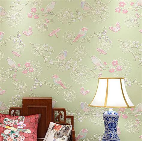 bird wallpaper home decor modern bird wallpaper home decor flower wall paper non