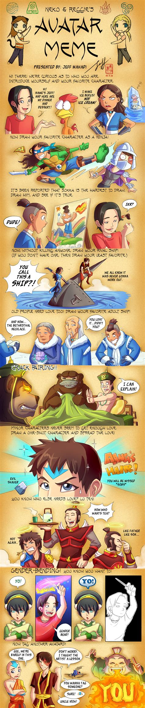 Avatar The Last Airbender Memes - avatar the last airbender meme by jeff mahadi on deviantart