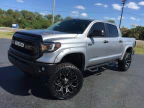 Toyota Tundra Lifted 2017 Toyota Tundra Custom Lifted Leather 22 Fuel Florida