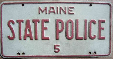 Maine State Vanity Plates by Stp Maine State