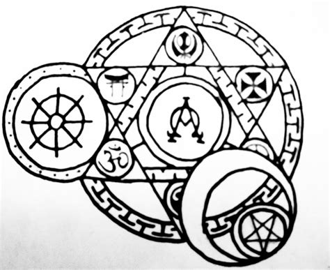 arcane tattoo arcane religious circle by thecrimsonseas on deviantart