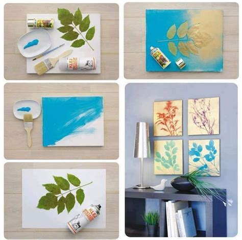 Diy Paintings For Home Decor | easy diy projects for home with inexpensive things