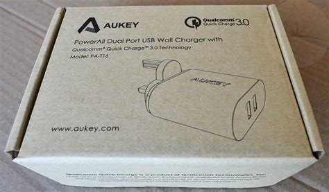 Aukey Oc 3 0 Pa T16 Wall Charger review aukey pa t16 qc3 0 dual usb wall charger