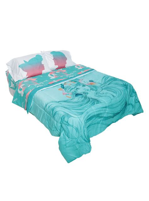 little mermaid bed disney the little mermaid sketch full queen comforter