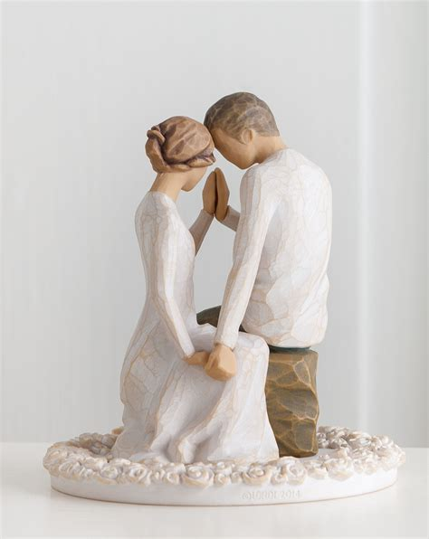 Wedding Cake Figures With Style by Willow Tree Cake Topper Wedding Cake Toppers Creative Ideas