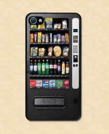 iphone iphone 4 snack vending machine cool by