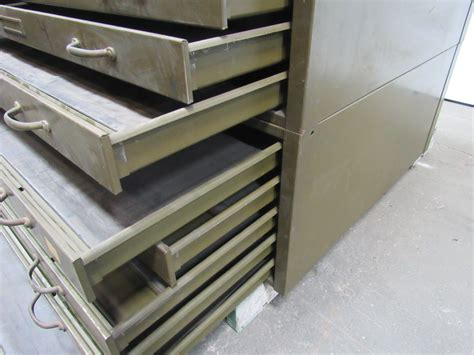 blueprint drawer hamilton 10 drawer architect blueprint flat files file cabinet 47 quot x35 quot x35 quot ebay