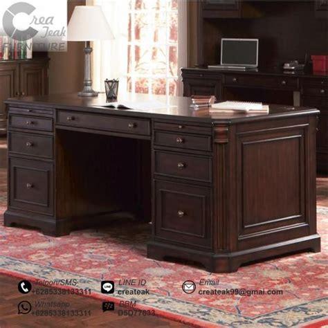 Meja Dan Kursi Kantor Murah meja kantor eksekutif jepara createak furniture