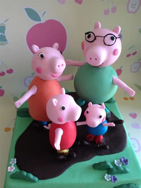 Peppa Pig Cake Decorations by Peppa Pig Cake Toppers Adelaide Rome