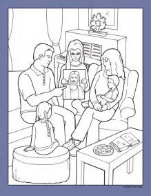 lds coloring pages time my has a plan friend feb 2006 friend