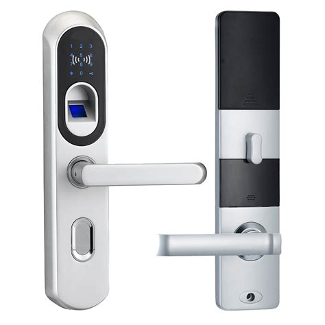 zinc alloy electric digital smart biometric fingerprint