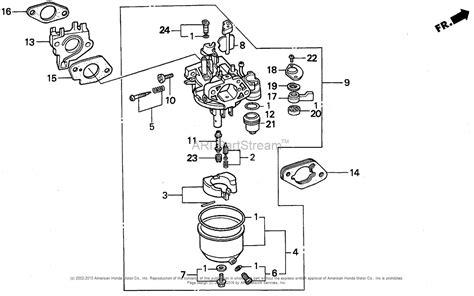 honda parts diagram honda 230 parts diagram carburetor honda auto parts
