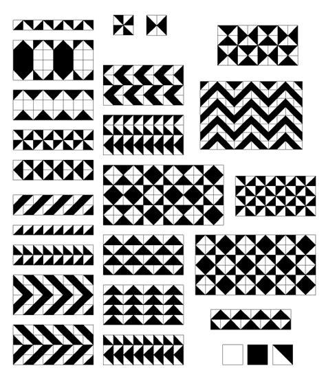 frieze pattern definition geometry mirror curves