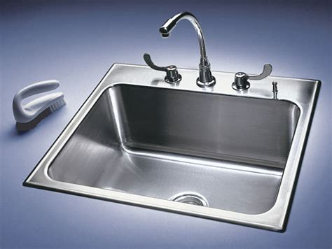 Metal Sink Ce Center Stainless Steel Sinks Show Their Metal