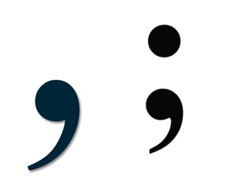 comma or semicolon when to use difference between comma vs semi colon