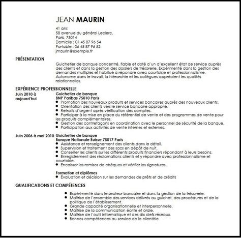 Lettre De Motivation Banque Guichetier Exemple De Cv Banque Lettre De Motivation 2017