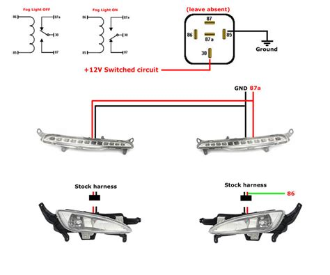 daytime running lights wiring diagram 37 wiring diagram