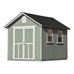 home depot storage buildings meridian 8 ft x 10 ft wood storage shed with floor