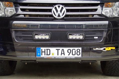 Led Zusatzscheinwerfer Auto by K 252 Hlergrilleinsatz Mit Led Fernscheinwerfern