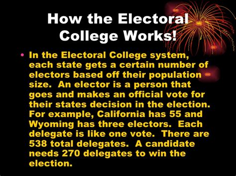 Electoral College Essay by Pro Electoral College Essays